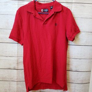 Chaps Red Polo S